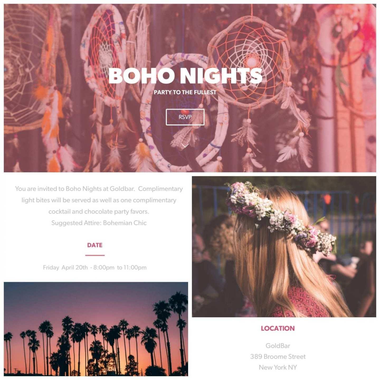 Boho Nights