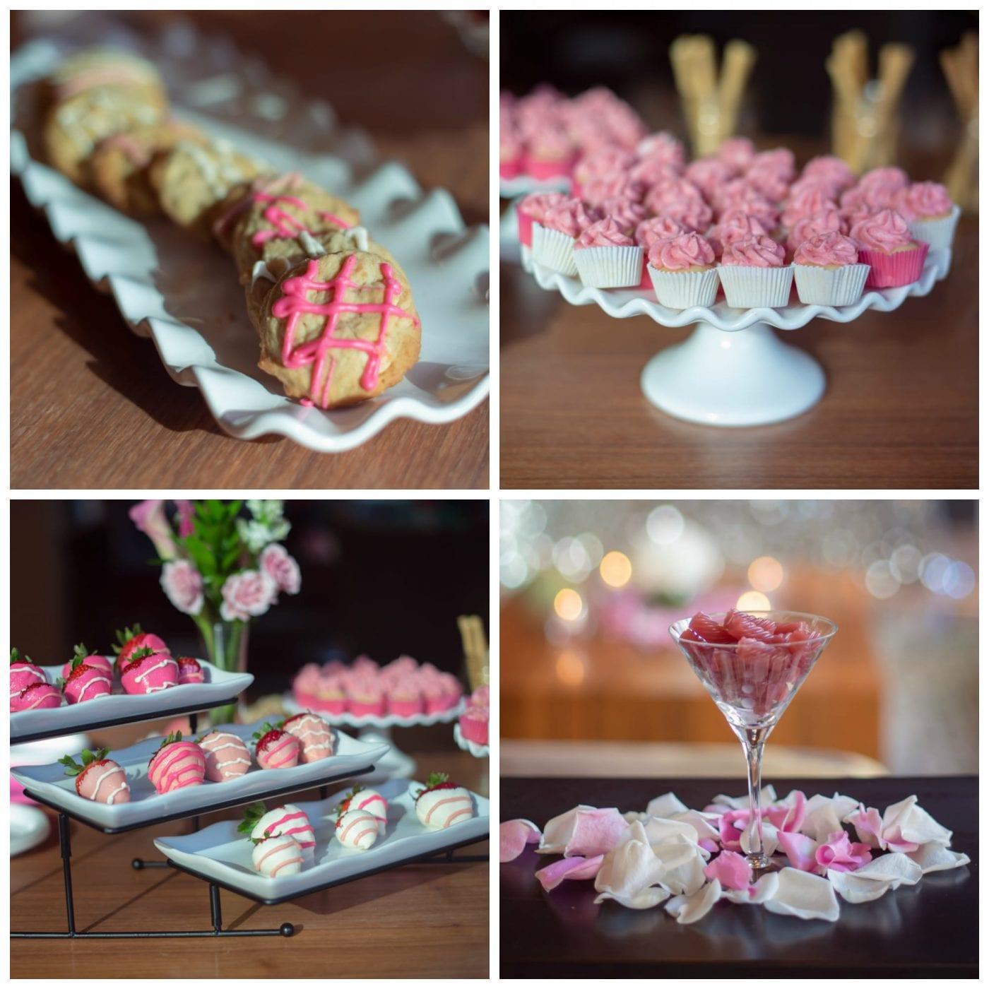 Rose et Blanc Desserts