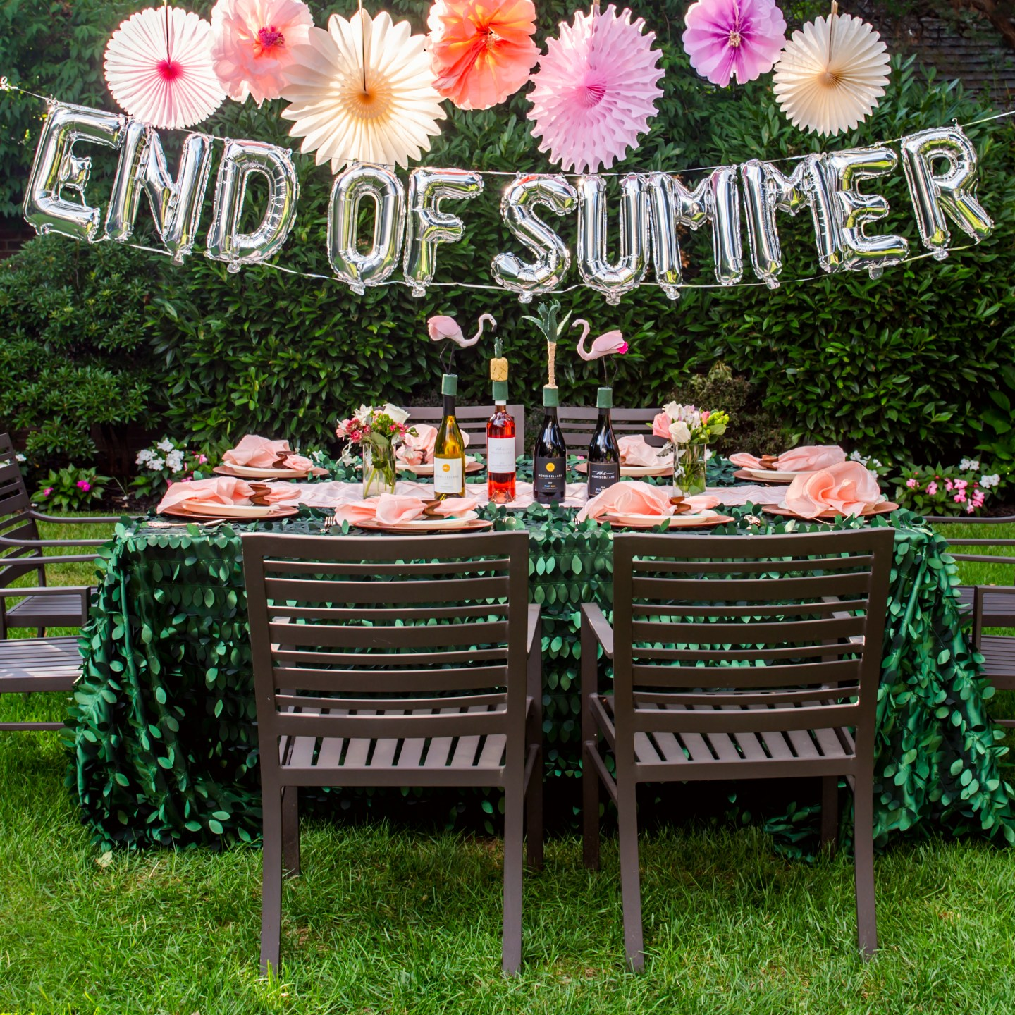 Host a Beautiful End of Summer Party