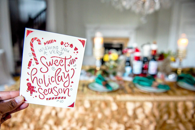 Cricut Holiday Card