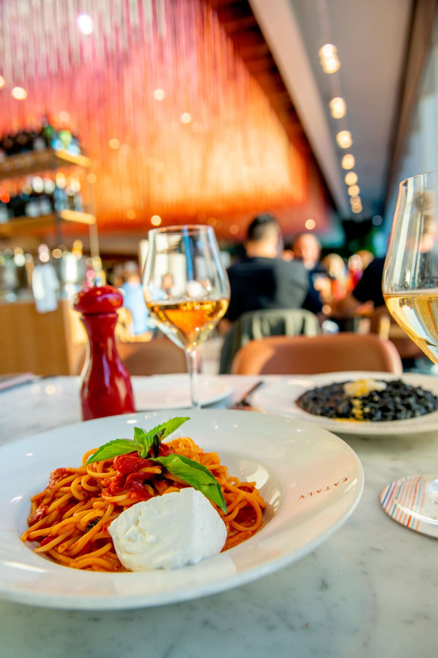 Eataly Downtown - A Colori Pasta and Wine. Eataly and Color Factory