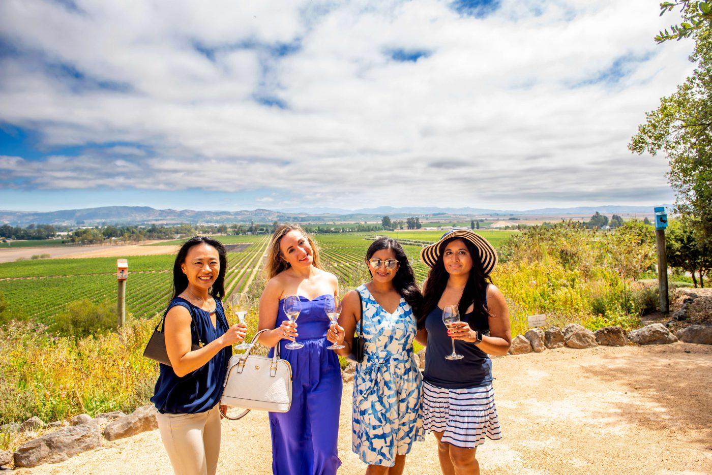 Women Wine Tasting at Gloria Ferrer