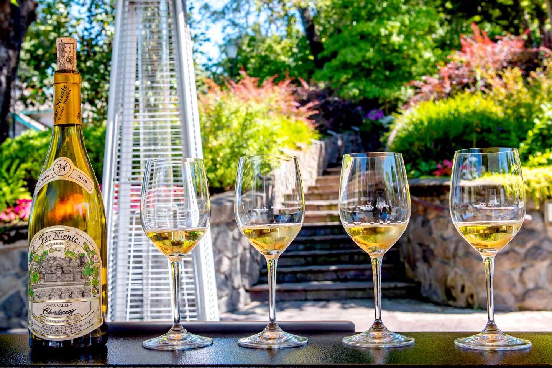 Far Niente Chardonnay. Best Napa Trip