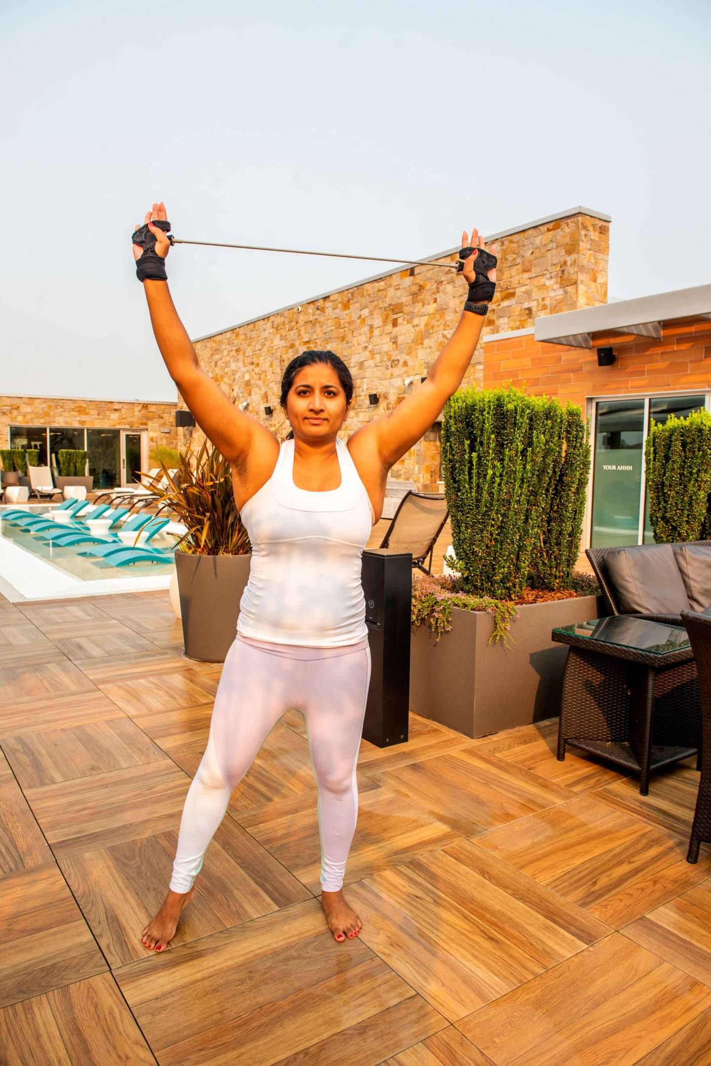 P.volve P.Band. best workout tips on vacation