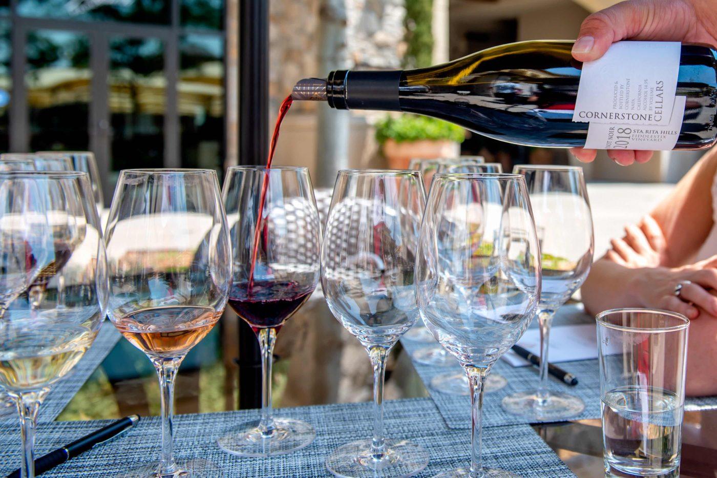 Cornerstone Wine Tasting