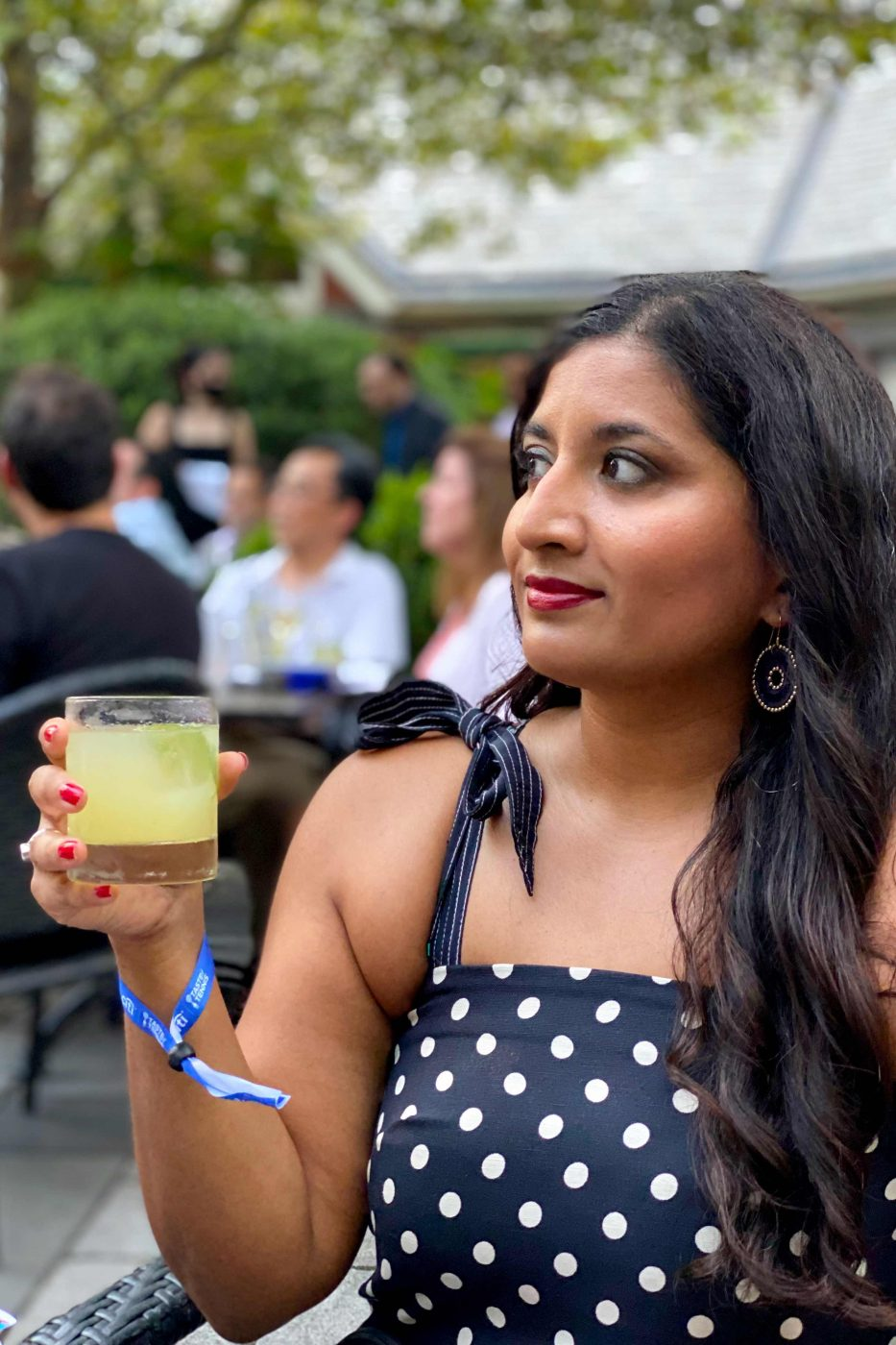 Taste of Tennis 2021 – Tavern on the Green - Woman with a Cocktail