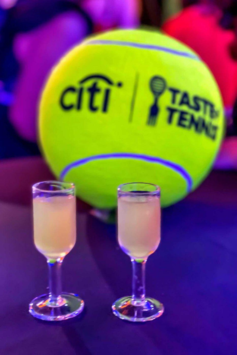Taste of Tennis 2021 – Tavern on the Green - Limoncello Shots