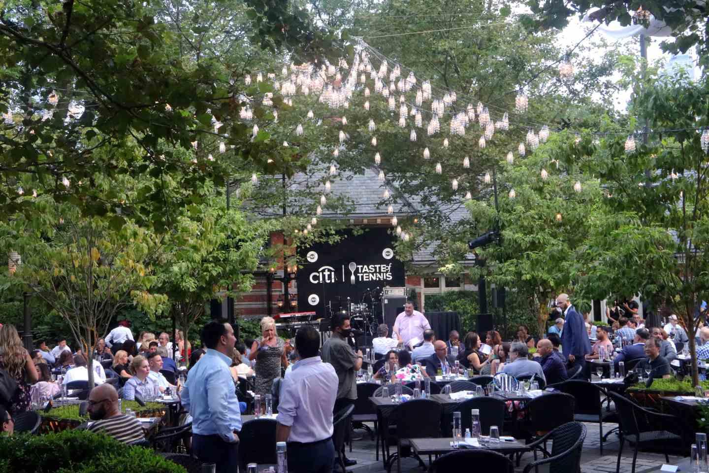 Taste of Tennis 2021 - Tavern on the Green. Citi Taste of Tennis.
