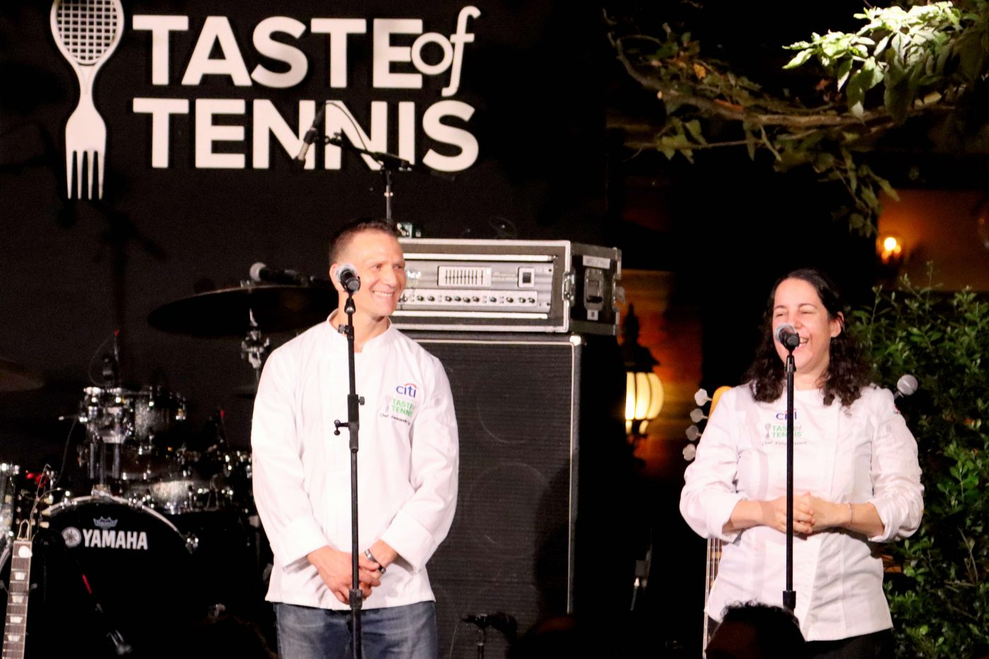 Taste of Tennis - Chef Alessandro Fortini and Chef Fany Gerson at Tavern on the Green