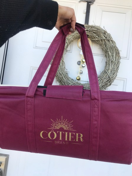 cotier brand reusable grocery bags review