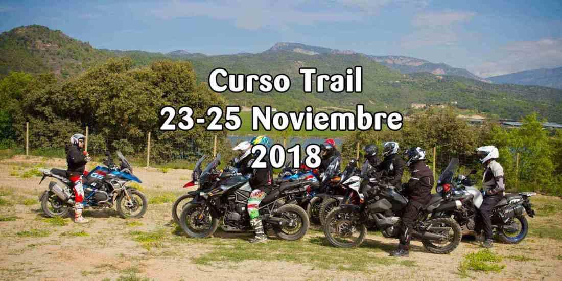 Curso de iniciación al Trail - Noviembre 2018