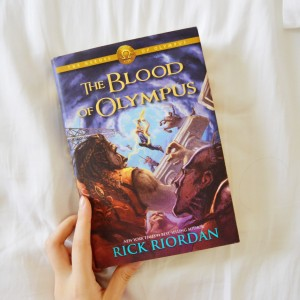the blood of olympus rick riordan