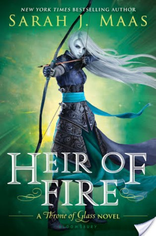 REVIEW + DISCUSSION: heir of fire, by sarah j. maas