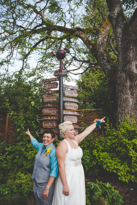 Kathleen + Kate | Edgefield Blackberry Hall Wedding