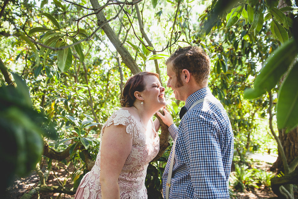 Sarah and Jesse Crystal Spring Rhododendron Garden Wedding