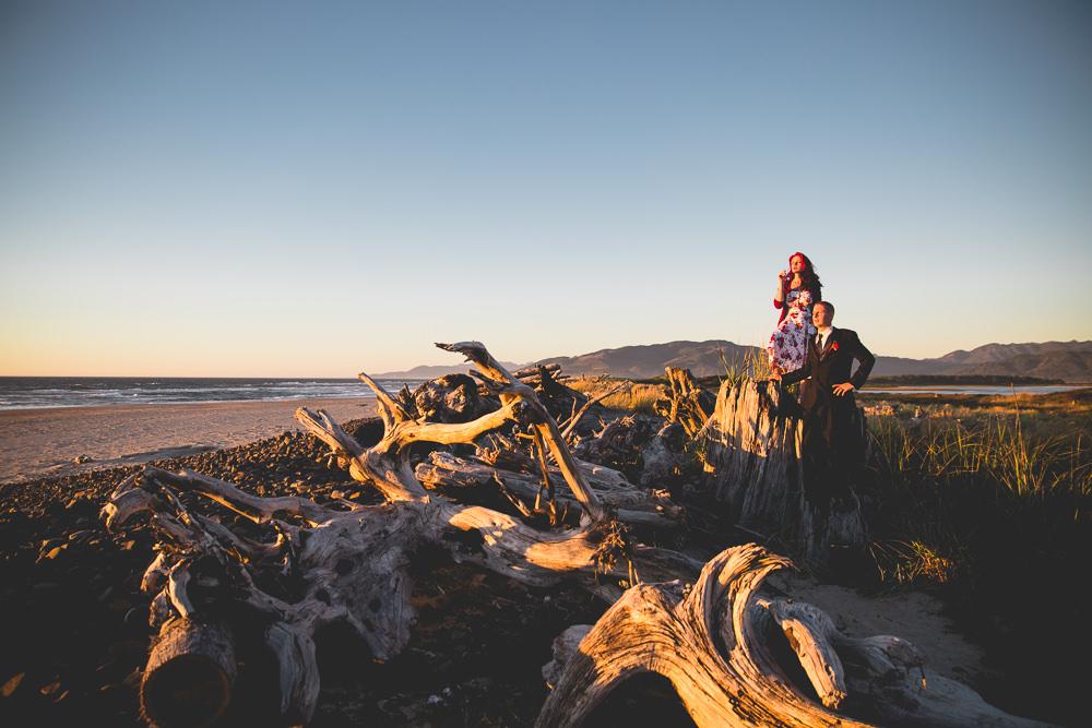Sorcha + Micah Cape Meares Tillamook Oregon Coast Wedding