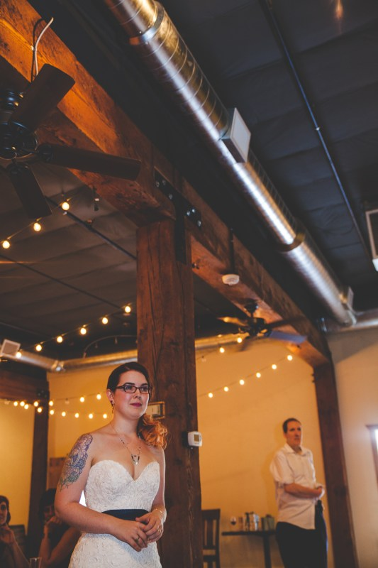 Caitlin + David | Springhouse Cellar Winery DIY Wedding