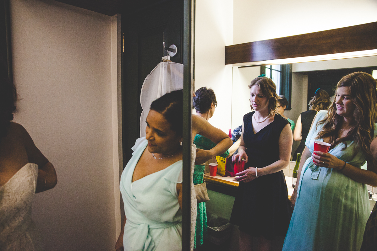 Amiee + Garin's Oaks Pioneer Church Wedding