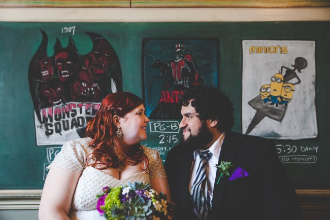 Kat + Luciano's Nerdy McMenamin's Kennedy School Vows Exchange