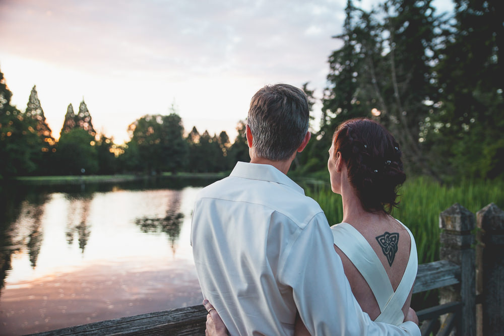 Nicole + Scott | Crystal Spring Rhododendron Garden Wedding