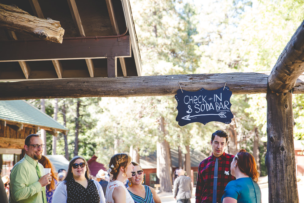 Shannon + Cyrus Camp Seely Crestline Mountain Wedding