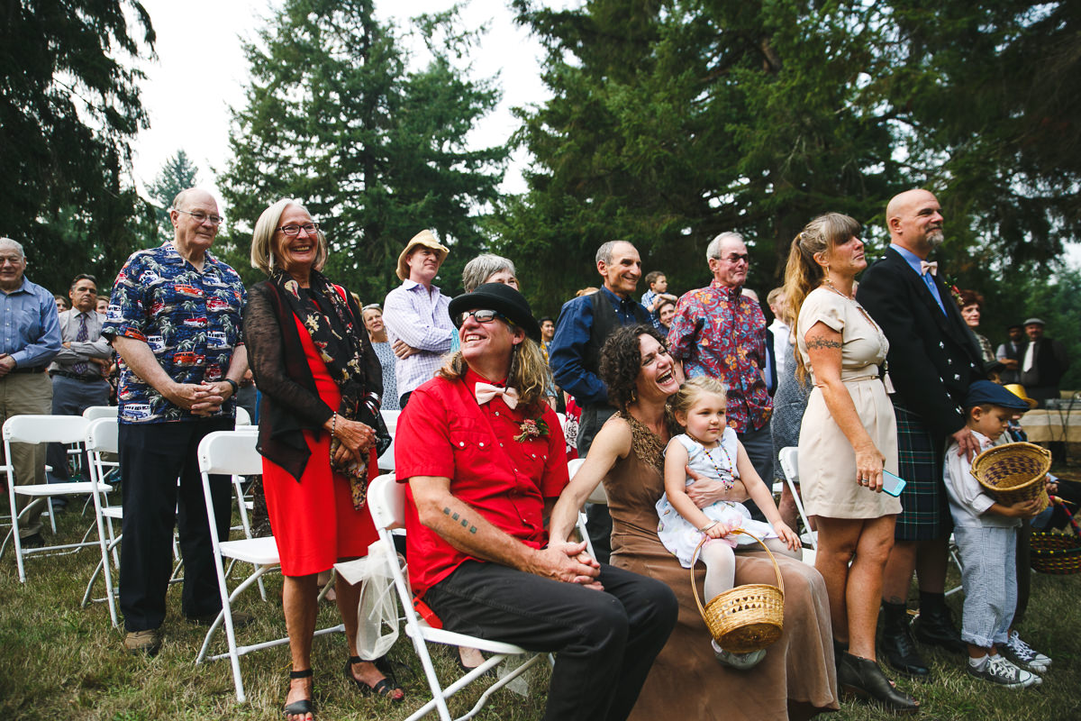 Acacia + Colin's Hippie Music Festival Wedding in Eugene, Or