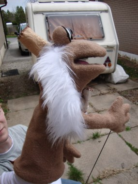 Puppet side view