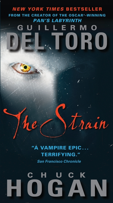 The Strain novel Cover