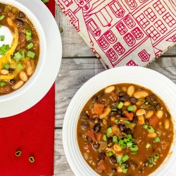Vegetarian Chili - Twisted Tastes