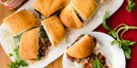 Italian Sloppy Joe Sliders | Twisted Tastes