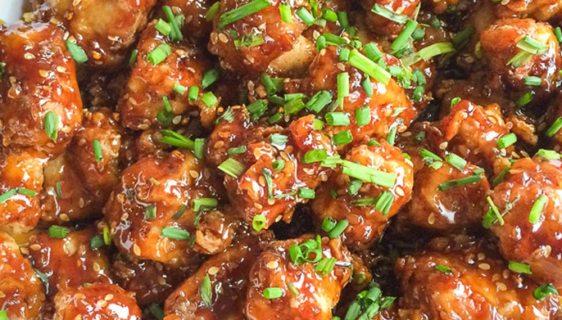 Sesame Chicken | Twisted Tastes