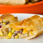 Quinoa Chimichanga | Twisted Tastes