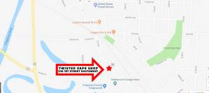 Twisted Vape Shop 546 1st Street Southwest. Montevideo Mn 56265