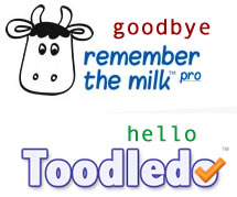Goodbye Remember The Milk Pro
