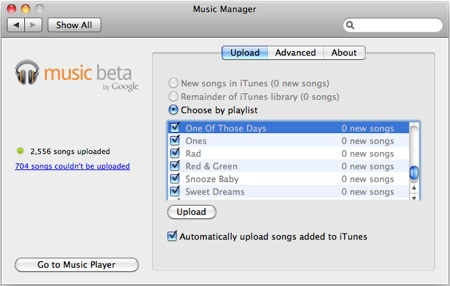 Google Music Uploader Mac