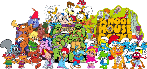 80s 90s Childhood Cartoons