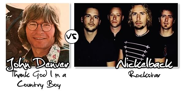Country Boy vs Rockstar
