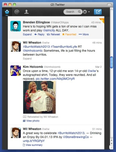Standalone Twitter.com App