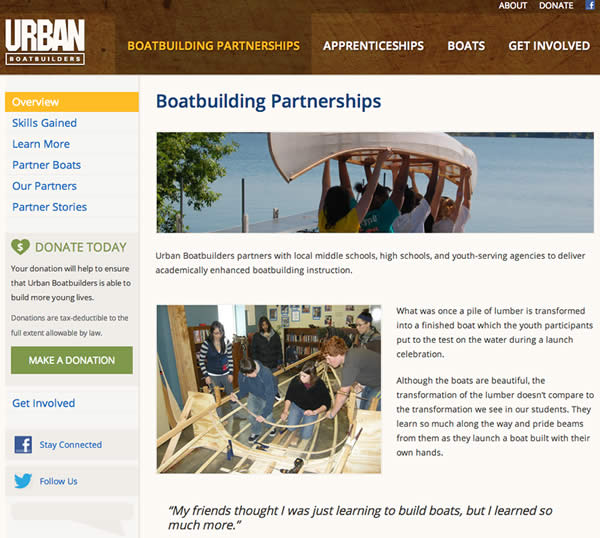 Urban Boatbuilders