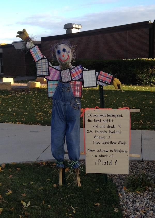 iPlaid Scarecrow