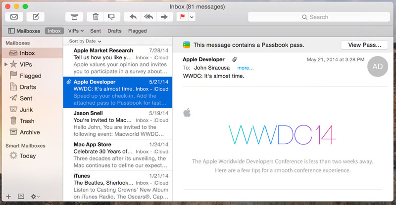 A Rundown of Mac eMail Applications