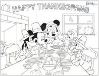 Mickey, Minnie, Donald, Daisy & Goofy