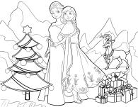 Anna & Elsa Christmas