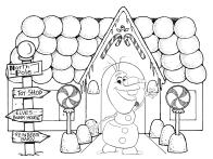 Olaf Gingerbread House