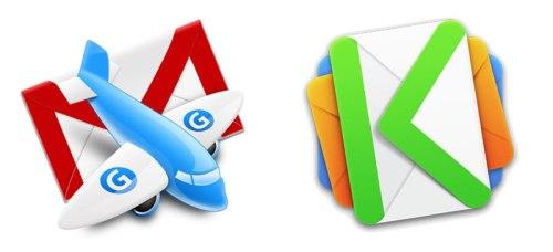 MailPlane and Kiwi Logos