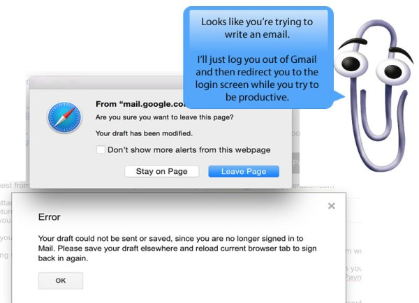 Clippy Gmail
