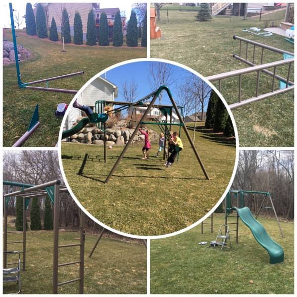 Looking For A Backyard Playset Get The Lifetime 90143 Monkey Bar