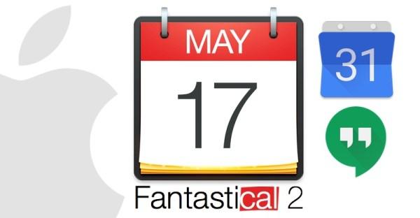 Fantastical 2 & Google Calendar