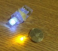 LED on a Battery