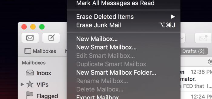 Apple's Mail